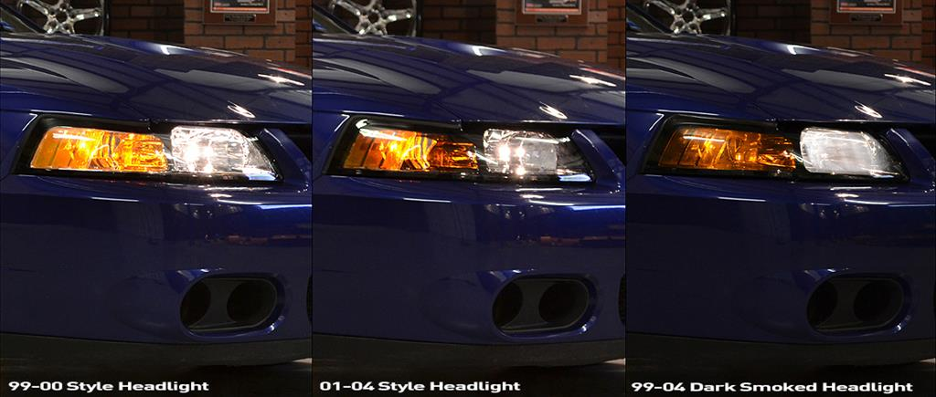 Mustang Headlight Installation & Comparison (99-04 New Edge) - Mustang Headlight Installation & Comparison (99-04 New Edge)