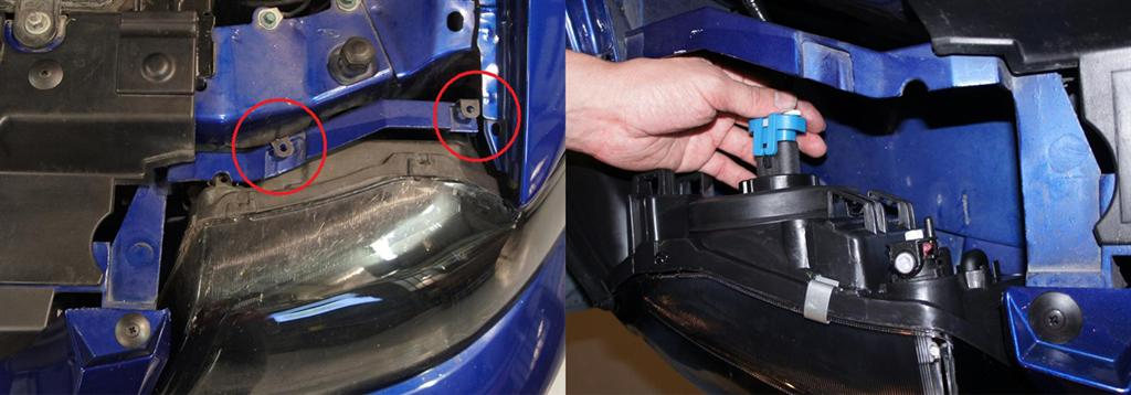 Mustang Headlight Installation & Comparison (99-04 New Edge) - mustang headlight installation new edge